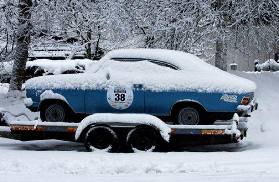 Bugatti Modell 57: Rendezvous auf Eis