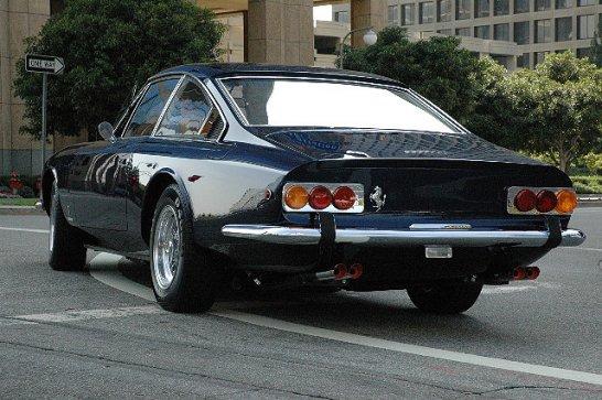 Concorso Ferrari in Los Angeles