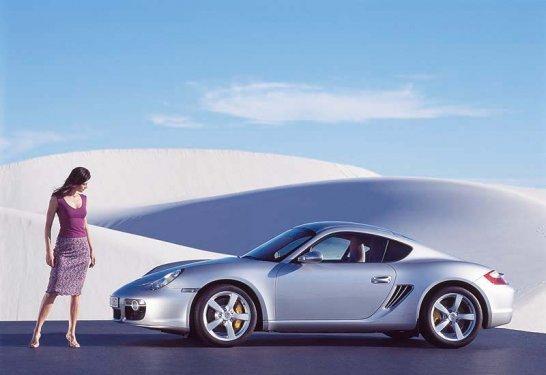 Porsche Cayman S - to launch at Frankfurt