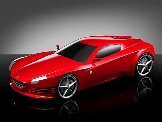 Design Study Competition exhibiting at the Galleria Ferrari