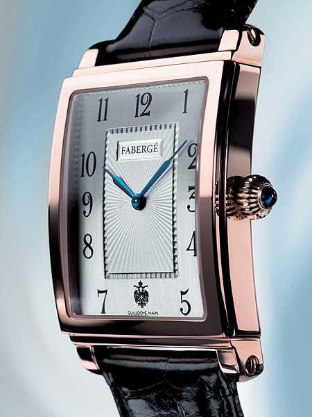 Fabergé Carrée M 1112: Des Zaren neue Uhr