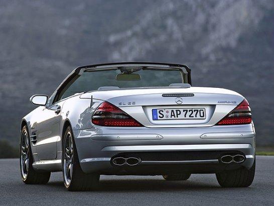 Mercedes-Benz SL 55 und SL 65 AMG: Neues aus der Oberliga