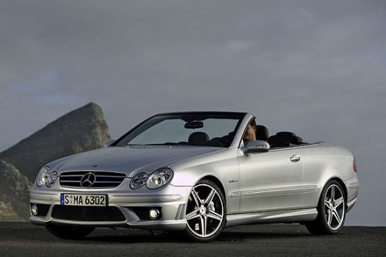 Mercedes-Benz CLS 63 AMG und CLK 63 AMG: V8-Raketen