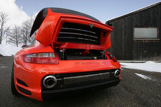 Gemballa GTR 650 Avalanche: Blutspur