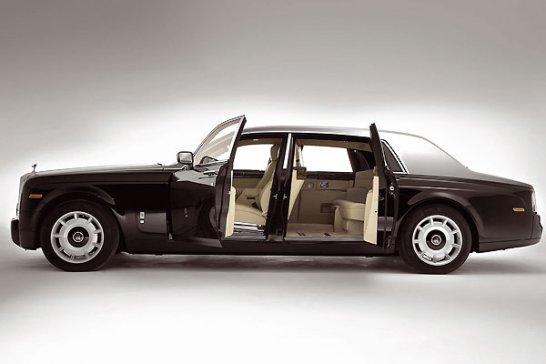 Rolls-Royce Premiere bei der Hammer Gruppe