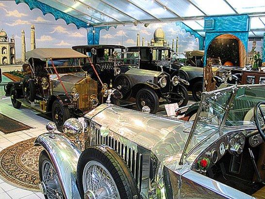 Spring-Meeting der Rolls-Royce-Enthusiasten
