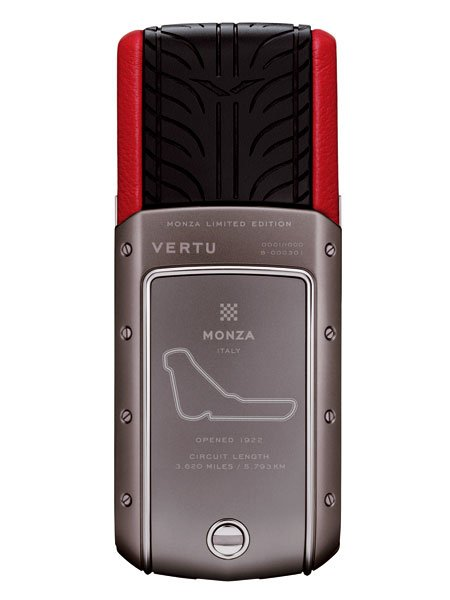 Vertu Racetrack Legends: Telefon für Schumacher und Co