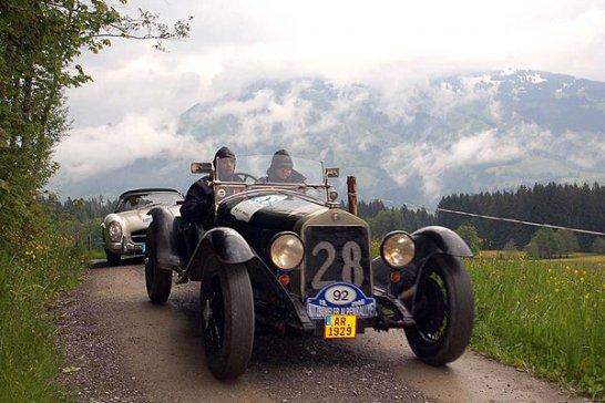 Hattrick bei der 19. Kitzbüheler Alpenrallye