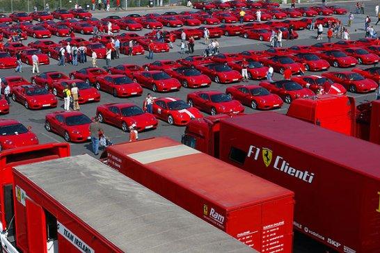 Ferrari Racing Days am Nürburgring