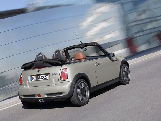 Deluxe 'Sidewalk' convertible from MINI