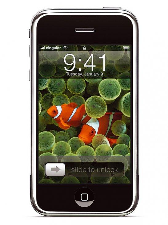 Apple iPhone: Knopflos glücklich