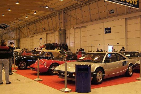 Motorclássico Classic Car Show in Lisbon