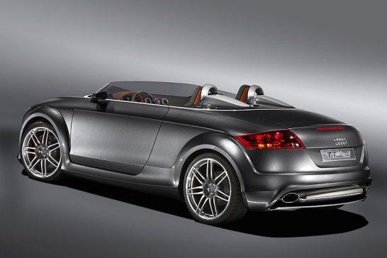 Audi TT clubsport quattro – Power-Speedster