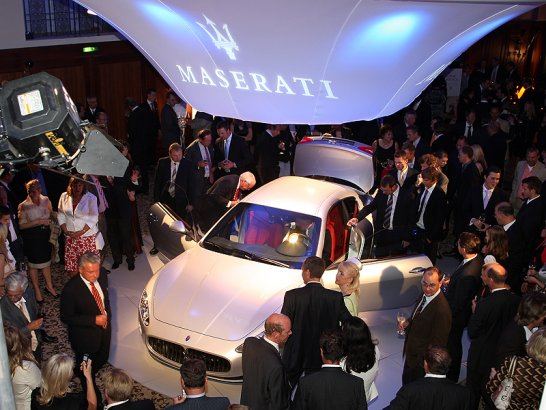 Maserati GranTurismo: Premiere in Berlin