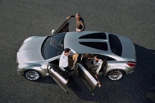 Mercedes-Benz  F 700 Concept: Moderne Sternfahrt