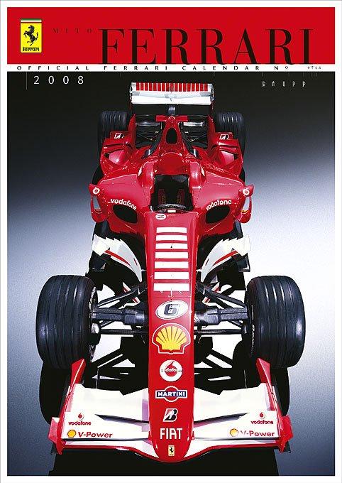 The Official Ferrari Calendar 2008