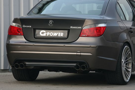 BMW M5 als G-Power Hurricane: Sturmwarnung