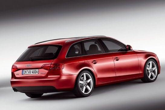Audi A4 Avant: Raumanzug