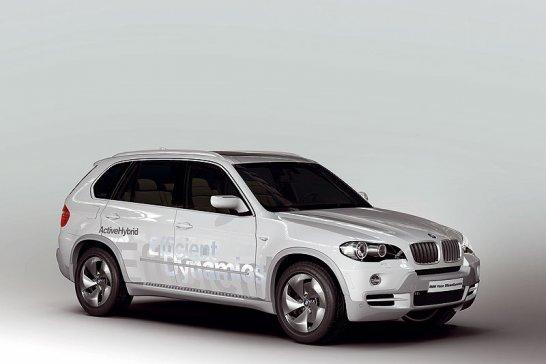 BMW Vision EfficientDynamics: Hybrid-Effizienz
