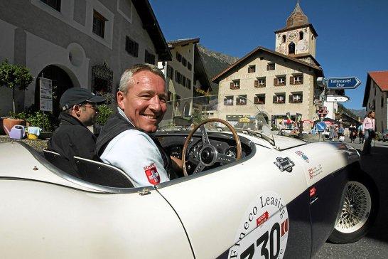 British Classic Car Meeting St. Moritz: Very british