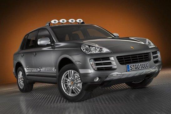 Porsche Announces Cayenne S Transsyberia
