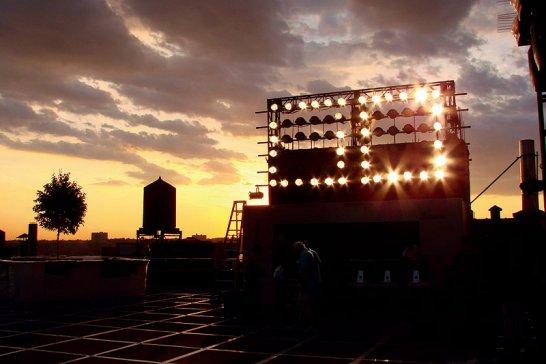 Mini Rooftop NYC: Kreativer Dachgarten