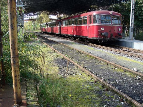 4. Historicar in Duisburg: Revierstreife
