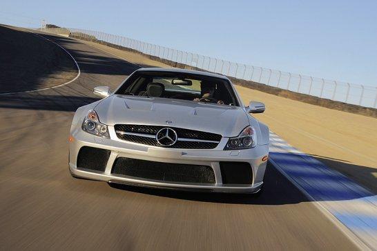 Mercedes-Benz SL 65 AMG Black Series und zwei ML 63 AMG Editionen: Drei Kämpfer
