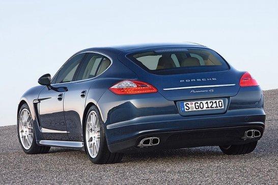 Porsche Panamera: Frisch geschlüpft