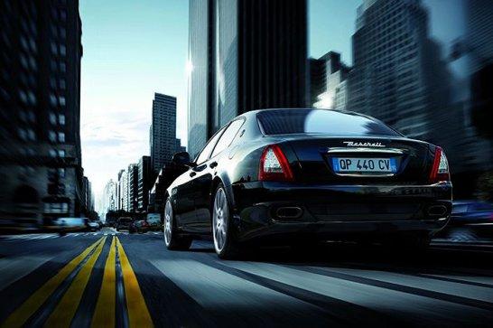 Maserati Quattroporte Sport GTS: Drei-Zackig