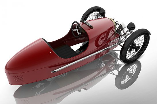 Morgan SuperSport Junior: Dreirad-Roadster zum Jubiläum