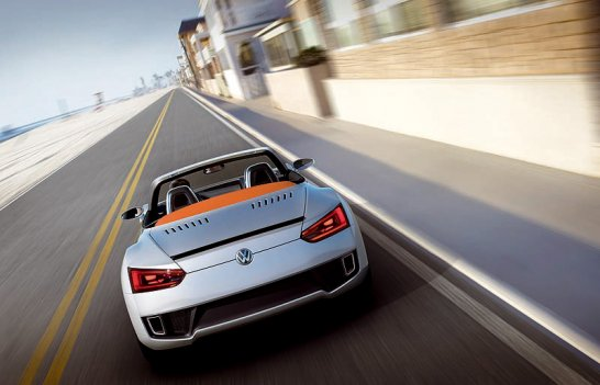 VW Concept Blue Sport: In blauer Mission