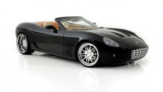 n2a Motors Anteros Roadster und Coupé: Corvette-Verschnitt