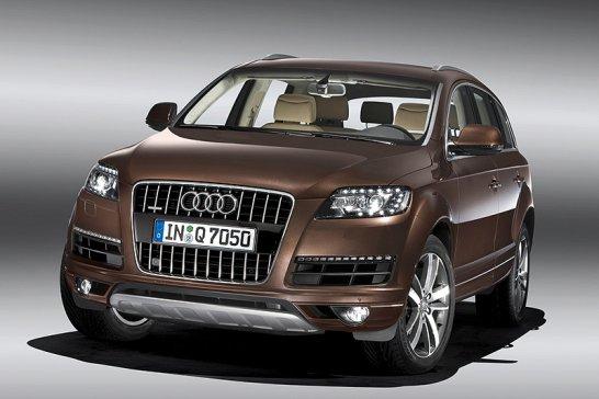Audi Q7 2009: Luxus-SUV auf Sparkurs