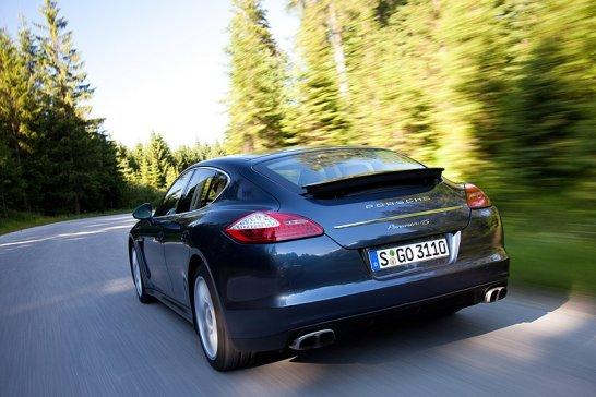 Porsche Panamera: Alles auf 4