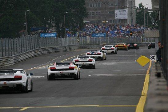 Lamborghini Blancpain Super Trofeo am Norisring: Rückblick