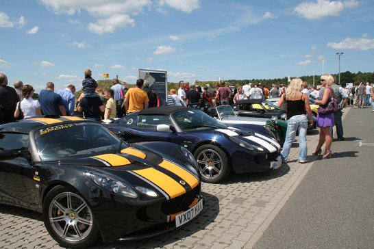 Sportwagenmeeting  2009: Gelungene Trainingseinheit