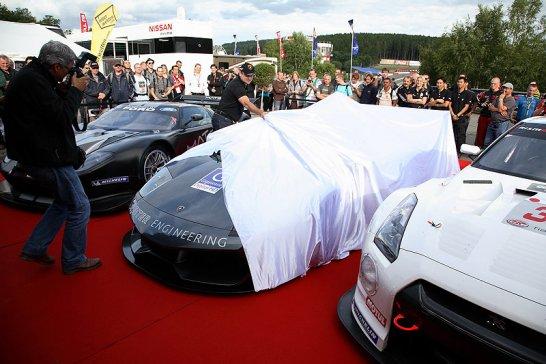 Lamborghini Reiter LP670 R-SV:  Debüt in Spa