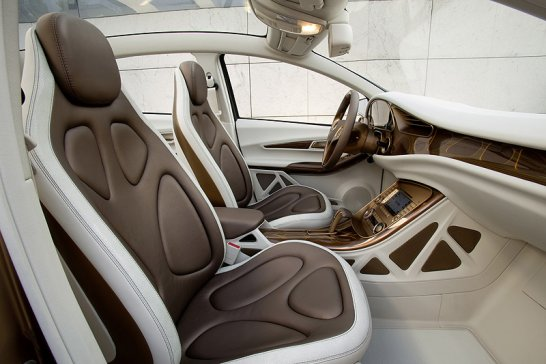 Mercedes-Benz Concept BlueZero E-Cell Plus