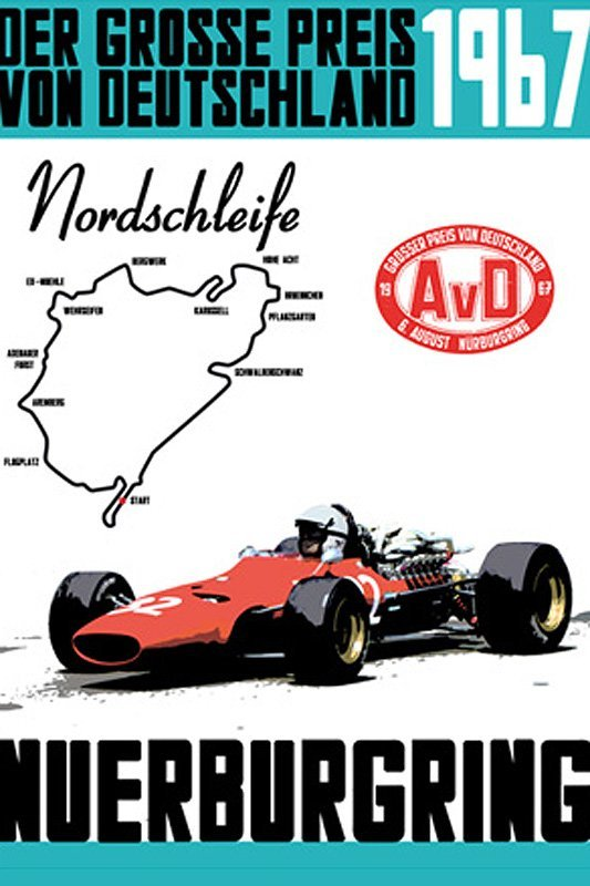 Classiche Sportive Poster Edition: Vintage Motorsportplakate