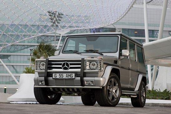 Dubai Motor Show: Mercedes zeigt goldenen SLS