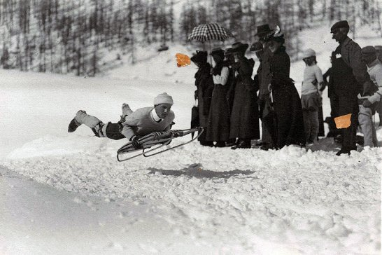 125 Jahre Cresta Run: Gentleman, count your bones!