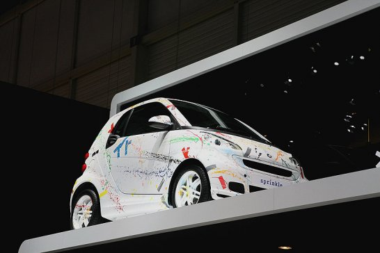 Smart Fourtwo: Sprinkled by Rolf Sachs