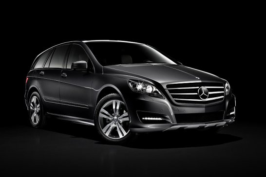 Mercedes-Benz R-Klasse: Verjüngungskur erfolgt