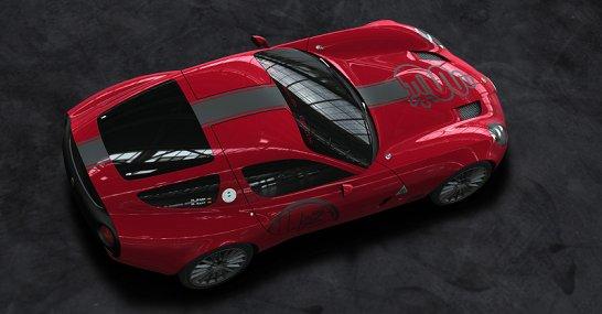 Zagato präsentiert Alfa TZ3 Corsa am Comer See