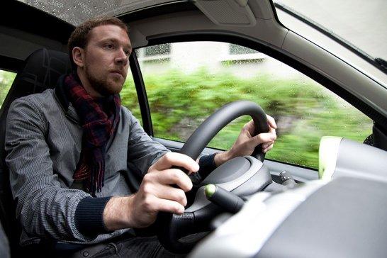 Smart Electric Drive: Bitte haben Sie Geduld