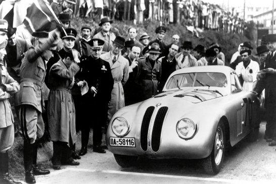 Alpentour: Im BMW 328 Rennwagen zur Mille Miglia
