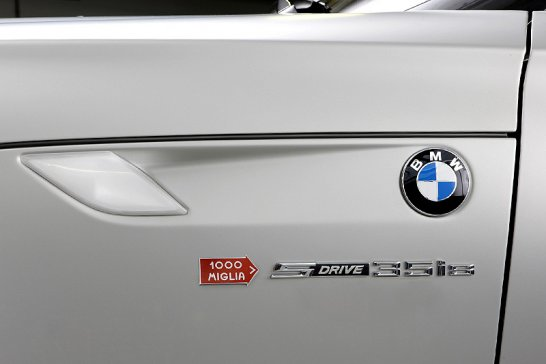 BMW Z4 Mille Miglia Limited Edition: Made for Italia
