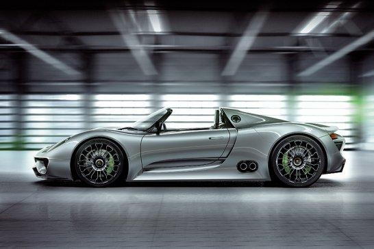 Porsche 918 Spyder: Start beim 24h-Rennen 2011