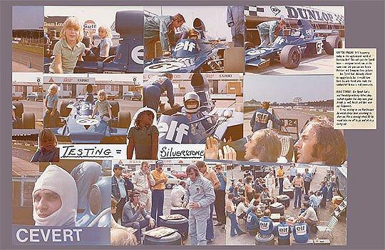 Collage: Jackie Stewarts Grand Prix Album